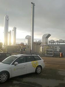 Special SPANGLER software automates biogas plant in Dessau