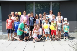 SPANGLER Kids Day group image