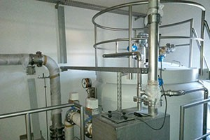 Activated carbon filter system, Ihrlerstein