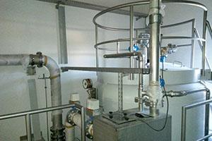 Activated carbon filter system, Ihrlerstein
