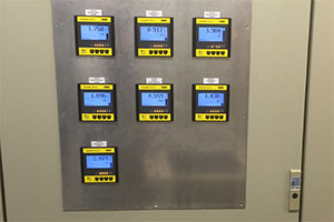Control system with new evaluation units