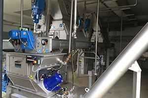 Energy efficient drives sewage treatment plant Neumarkt