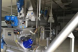 Energy efficient drives sewage treatment plant Neumarkt
