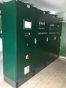 SPANGLER control system sewage treatment plant Neumarkt