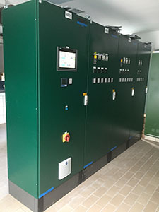 SPANGLER control system sewage treatment plant Neumarkt