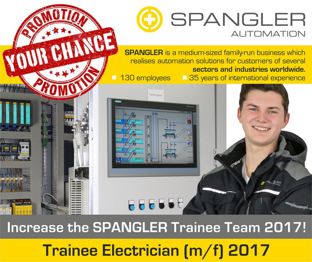 Trainee Electrician 2017 SPANGLER