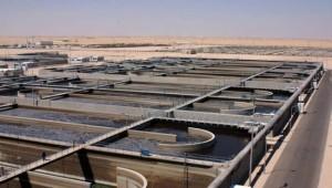 Overlooking Sulaibiya WWTP