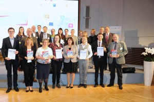 Award winners of the German contest 'Training without borders'