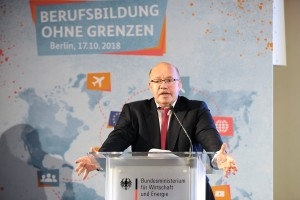 Opening speech by the patron Federal Minister of Economics and Energy Peter Altmaier
