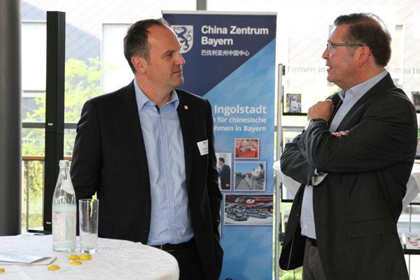 Christian Brandmüller in a conversation