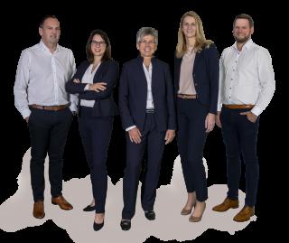 Spangler Management, consisting of: Christian Brandmüller, Tina Lambert, Hannelore Spangler-Schäfer, Cornelia Hofmann and Thomas Zenk