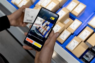 Scan the components QRC and order mobile